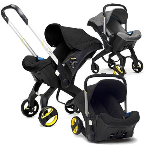 Alpha Living Baby Car Seat Stroller 4 In 1 Transformable Travel System