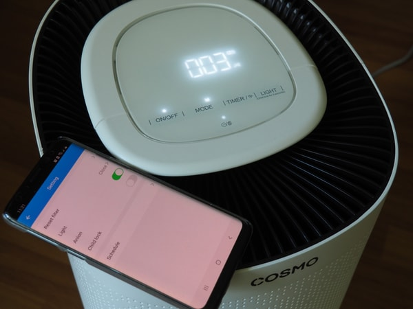 Anion Mode Of The Cosmo Prime® Air Purifier