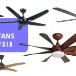 13 Best Ceiling Fans In Malaysia 2021: How To Choose (LED Options Too)