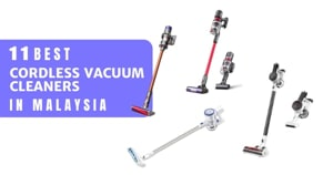 9 Best Cordless Vacuum Cleaners In Malaysia 2021: No More Tripping Over Wires! (With Cheaper Options Than Dyson)