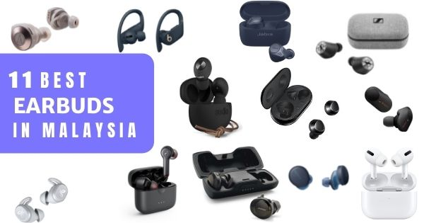 13 Best Wireless Earbuds Or Earphones In Malaysia 2021 (Reviews + Price)