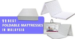 11 Best Foldable Mattresses In Malaysia 2020 (Comfy & Light)