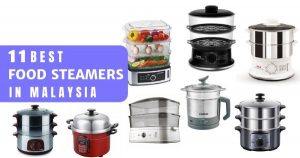 11 Best Food Steamers Malaysia 2021: For Healthy Cooking (Stainless Steel Too)