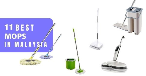 11 Best Mops In Malaysia 2021 – Finish Mopping Faster Easily