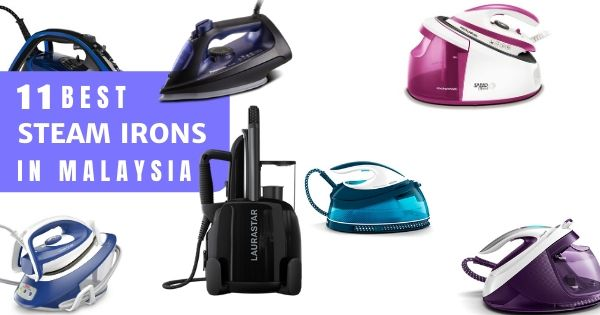 11 Best Steam Irons In Malaysia 2020: Ironing Has Never Been Easier! (All Types & Features)