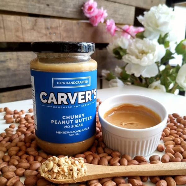 Chunky Peanut Butter By Carver's