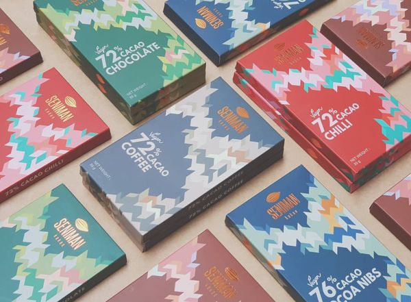 Classic Chocolate Bars Of Different Origins Sold By Seniman Kakao