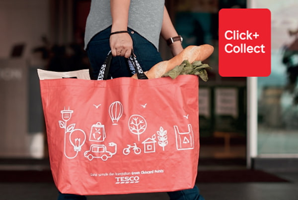 Collect Points By Shopping On Tesco Groceries