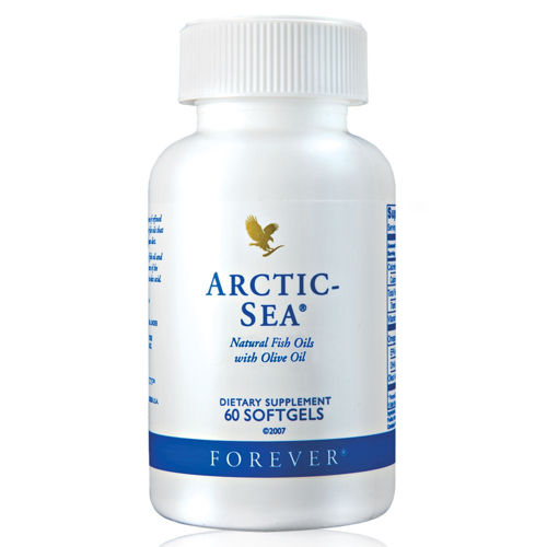 FOREVER ARCTIC SEA Natural Fish Oils With Olive Oil 1000mg