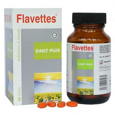 Flavettes Daily Plus Multivitamins & Minerals