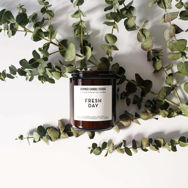 Fresh Day Candle by Borneo Candle Studio