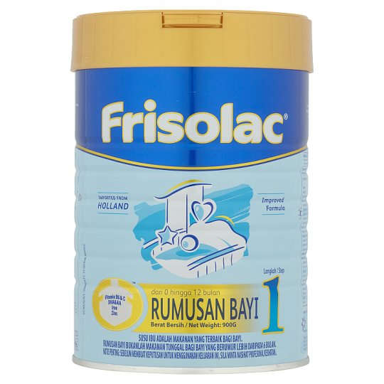 Frisolac Step 1 Baby Milk Formula 900g