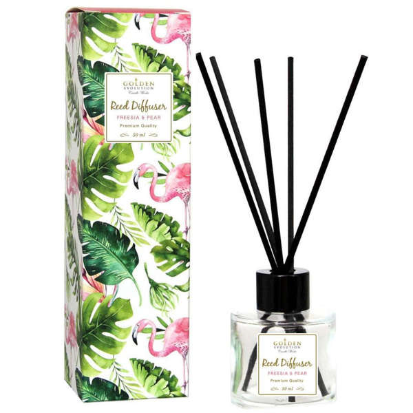 Golden Evolution Candle Works Reed Diffuser