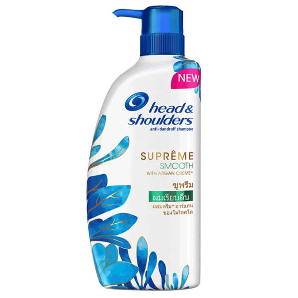 Head & Shoulders Supreme Moisture With Argan Crème Anti-Dandruff Shampoo