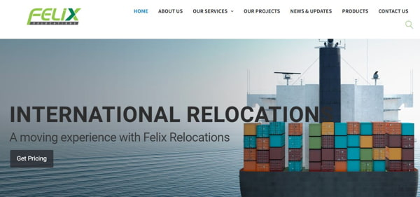 Homepage Of Felix Relocations