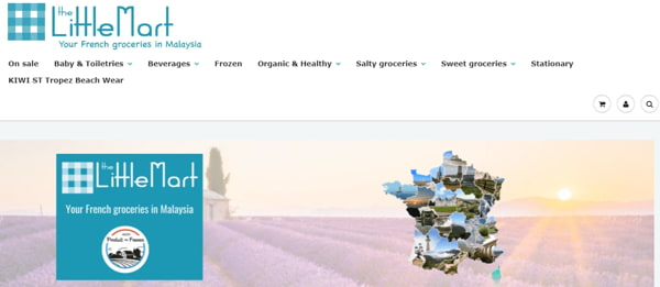 Homepage Of The Litttle Mart