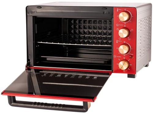 Kelen Munoz KMOV60R Electric Oven with Rotisserie Function and Non-Stick Chamber - 60L