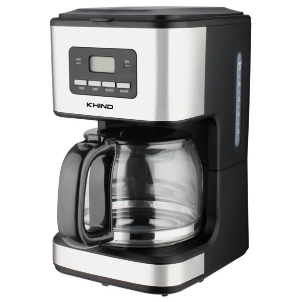 Khind CM1215 Classic Stainless Steel Coffee Maker