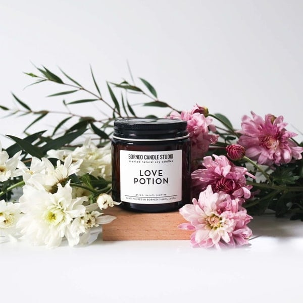 Love Potion Candle by Borneo Candle Studio