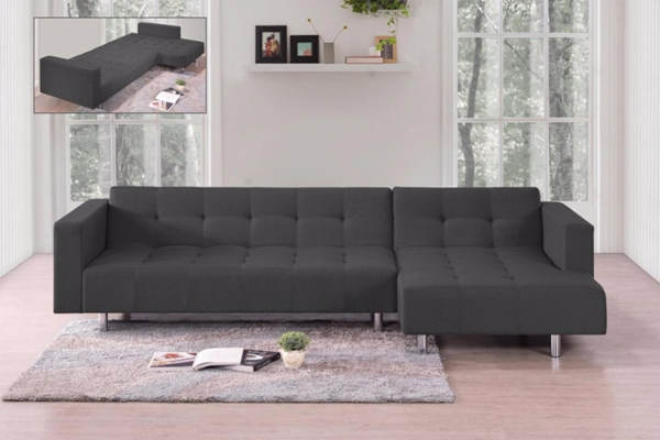 M&S Sofea 3 Seater L-Shape Sofa Bed