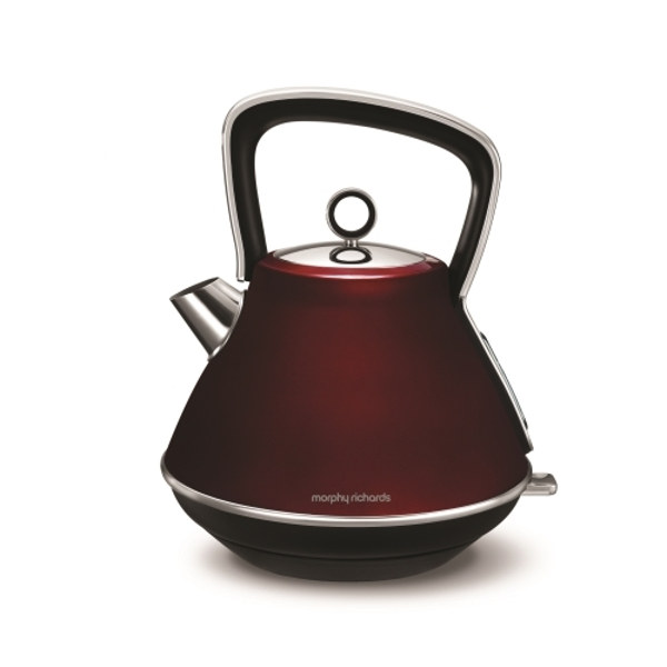Morphy Richards 100108 (Red) Evoke Pyramid 1.5L Kettle