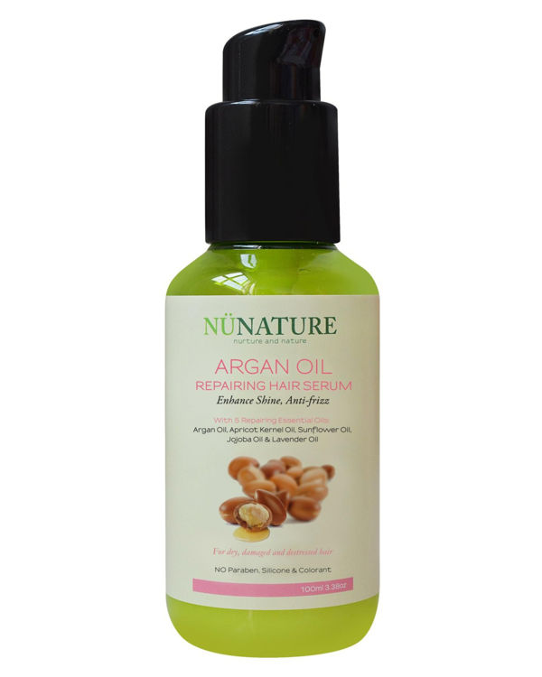 Nunature Argan Oil Repairing Hair Serum