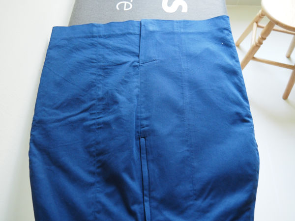 Office Skirt (Cotton Poly Mix) Result With Philips Steam Iron