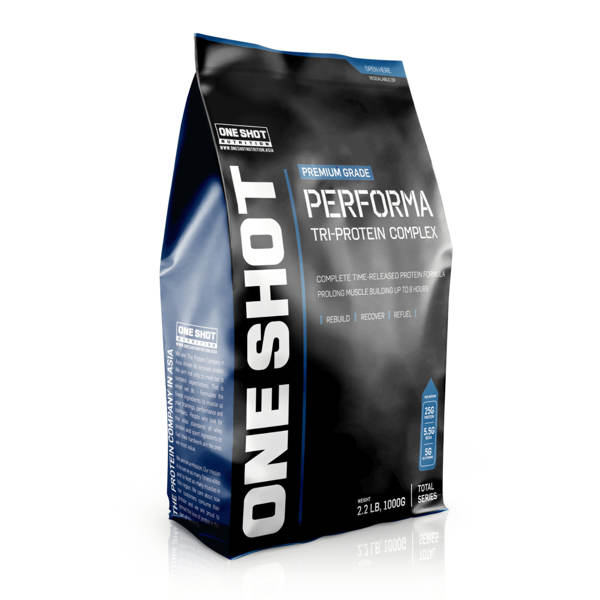 One Shot Nutrition PERFORMA Tri-Protein Complex