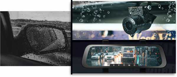 Perfect Rear Vision In Harsh Weather With IP67 Waterproofing 70MAI Backup Camera
