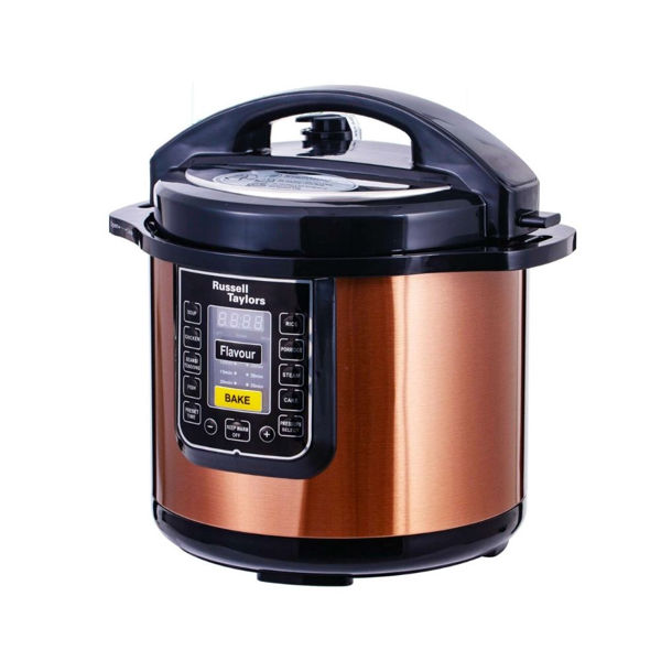 Russell Taylors PC-80 Dual Pot Pressure Cooker