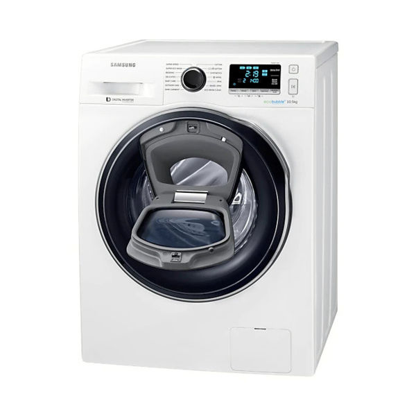 Samsung WW10K6410QWFQ 10.5kg Front Load Washing Machine With Add Wash