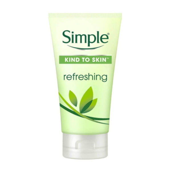 Pencuci Muka Simple Cleanser Refreshing Facial Wash