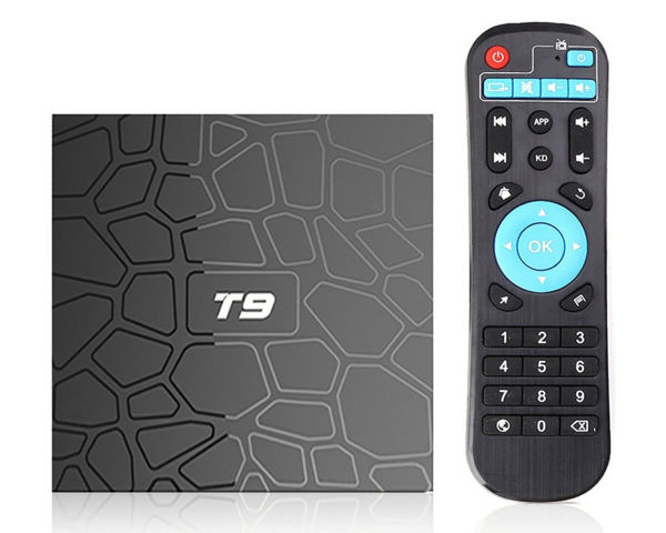 T9 RK3328 Android 9.0 Pie Smart Android TV Box