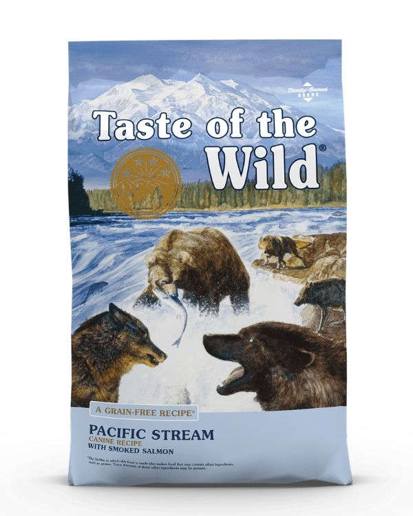 Taste Of The Wild Pacific Stream With Smoked Salmon Dry Dog Food