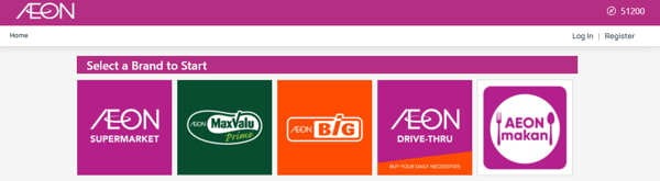 You Can Shop Online On The Aeon Website